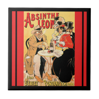 Absinthe Leon Tile