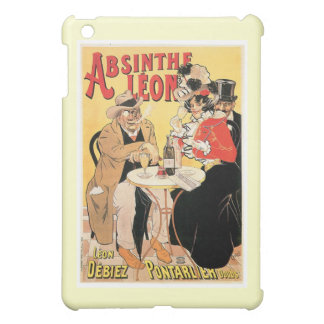 Absinthe Leon Vintage Wine Drink Ad Art Cover For The iPad Mini