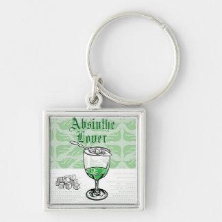 absinthe lover keychain