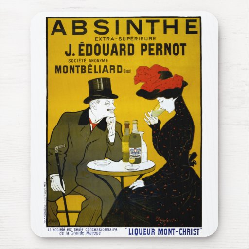 ABSINTHE Makes The Heart Grow Fonder Mouse Pad