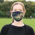 Absinthe Mermaid by Jasmine Becket-Griffith Cloth Face Mask