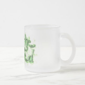 Absinthe Minded 10 Oz Frosted Glass Coffee Mug