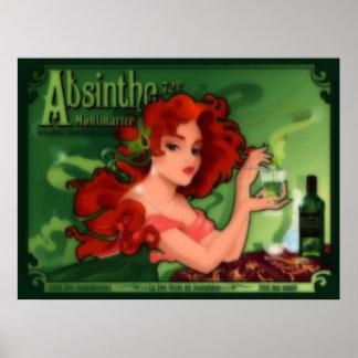 Absinthe Montmartre Poster
