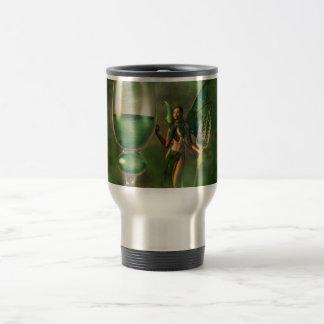 Absinthe 15 Oz Stainless Steel Travel Mug
