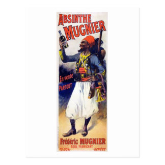 Absinthe Mugnier Postcard