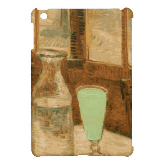 Absinthe Neon Green Glass and Bottle iPad Mini Covers