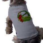 Absinthe Ophelie Woman In Red Dress Doggie T Shirt