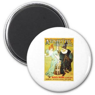 Absinthe parisienne 2 inch round magnet