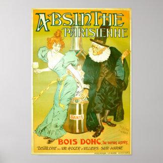 Absinthe Parisienne Gélis-Didot Malteste Fine Art Poster