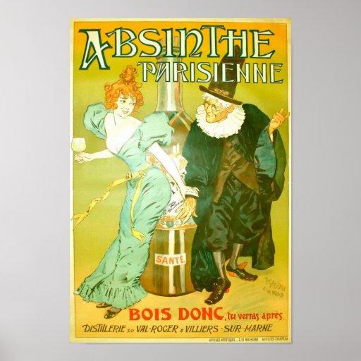 Absinthe Parisienne Print
