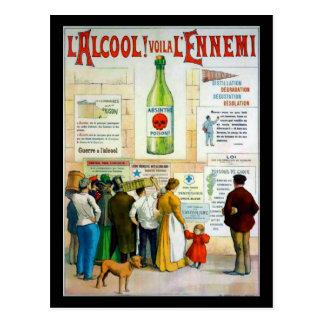 Absinthe Poison Postcard