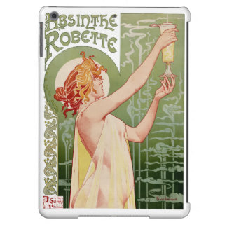 Absinthe Robette 1896 Vintage Poster Restored iPad Air Cover