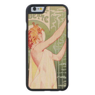 Absinthe Robette Carved Maple iPhone 6 Case