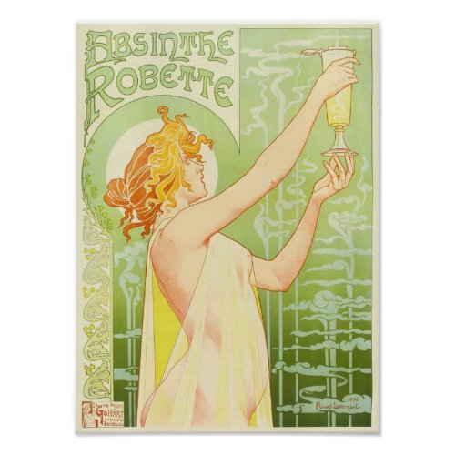 Absinthe Robette, Henri Privat-Livemont posters