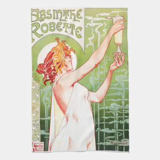 Absinthe Robette Kitchen Towel