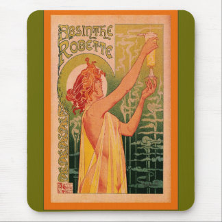 Absinthe Robette Mouse Pad
