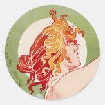 Absinthe Robette - Vintage French Ad Classic Round Sticker