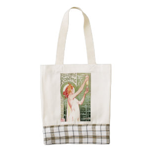 Absinthe Robette Zazzle HEART Tote Bag
