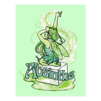 Absinthe Sugar Cube Fairy Post Cards