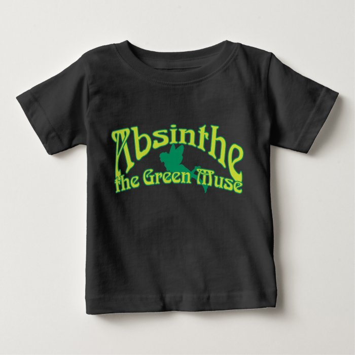 Absinthe Text The Green Muse Baby T-Shirt