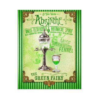 "Absinthe ""The Green Fairy"" Canvas Prints"