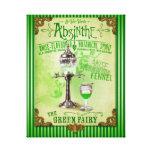 """Absinthe """"The Green Fairy"""" Canvas Print"""