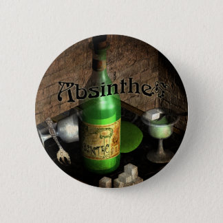 Absinthe Tray Still Life Button