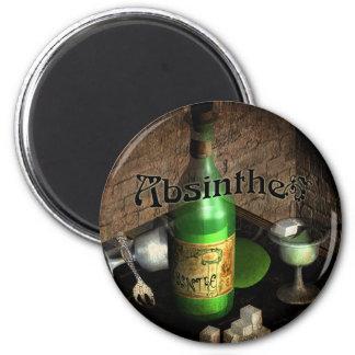 Absinthe Tray Still Life Magnet