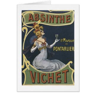Absinthe Vichet Card