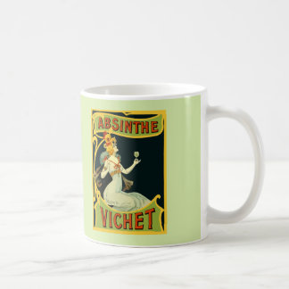 Absinthe Vichet, modern art nouveau Coffee Mug
