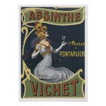 Absinthe Vichet Posters