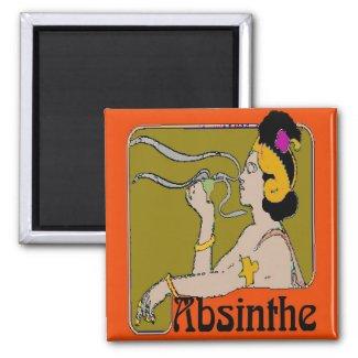 Absinthe Woman magnet