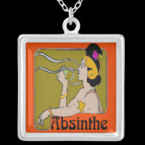 Absinthe Woman necklaces