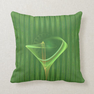 Absinthini Faery Martini Art Throw Pillow