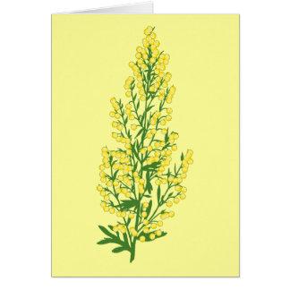 Absinthium Flowers Card