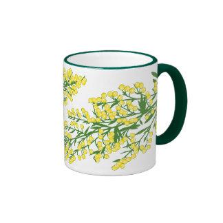 Absinthium Flowers Ringer Coffee Mug