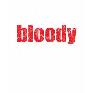 Absobloodylutely Retro U.K. Slang T-Shirt shirt