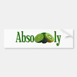 Absofruitly Bumper Sticker