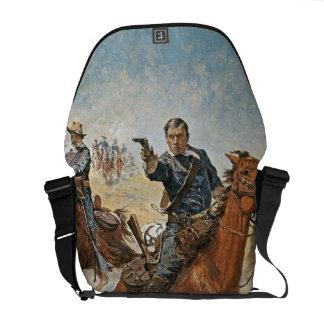 Absolutamente seguro: un soldado de caballería de  bolsas messenger