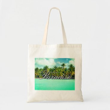 Beach Themed Absolute beach paradise tote bag