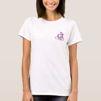 Absolute DT Fangirl Small Logo (Purple) T-Shirt