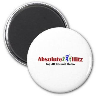 Absolute Hitz Merchandise 2 Inch Round Magnet