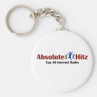 Absolute Hitz Merchandise Basic Round Button Keychain