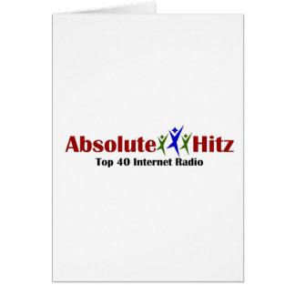 Absolute Hitz Merchandise Card