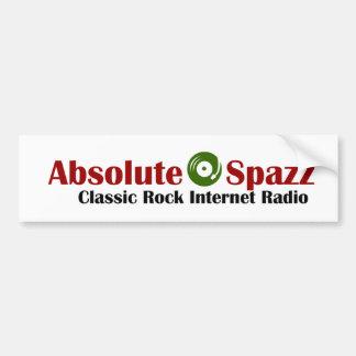 Absolute Spazz Merchandise Car Bumper Sticker