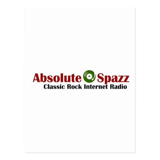 Absolute Spazz Merchandise Post Cards