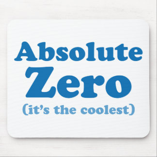 Absolute Zero Mouse Pad
