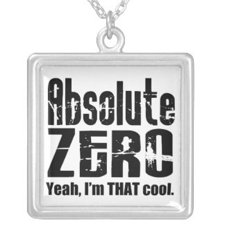 Absolute Zero Necklace