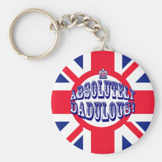 Absolutely Dad Keychain
