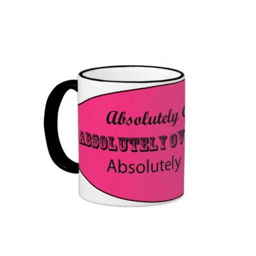 Absolutely Divorced Ringer Mug